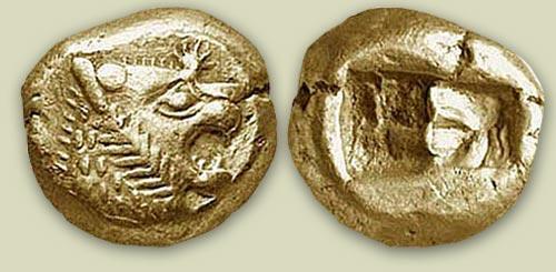 King Croesus' gold