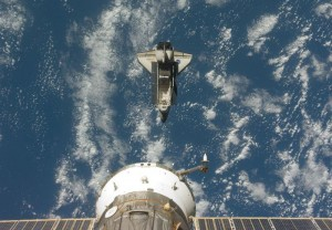 Endeavor undocks from the ISS